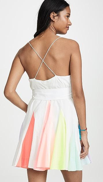 alice + olivia Kimmy 三角形元素短连衣裙