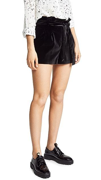 alice + olivia Laurine 纸包短裤