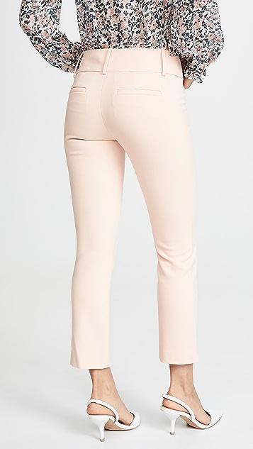 alice + olivia Stacey Slim 脚踝裤子