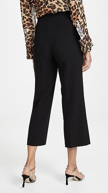 alice + olivia Lorinda 超高腰短款裤子
