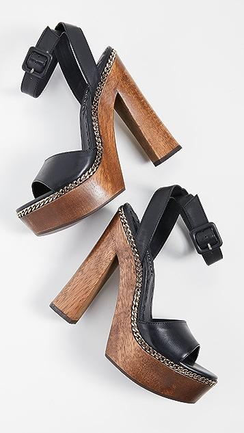 alice + olivia Faira 厚底凉鞋