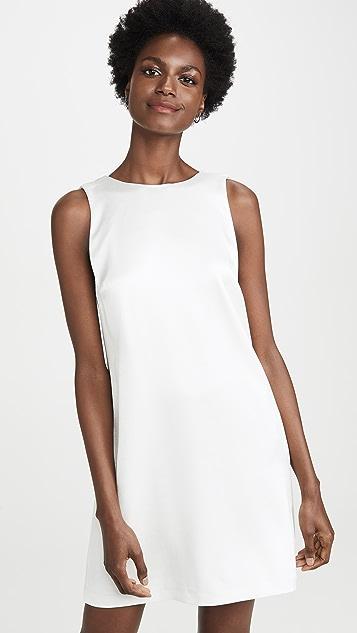 alice + olivia Lita 垂褶背面直筒连衣裙