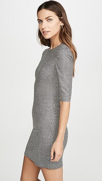alice + olivia Delora 圆领合身短裙