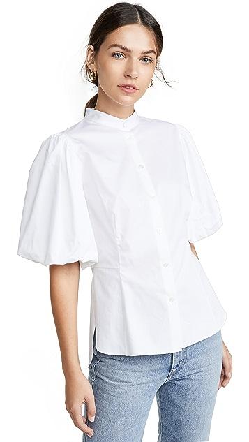 Adam Lippes 泡泡袖合身女衫