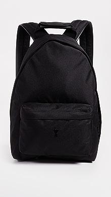 아미 남성 백팩 AMI Backpack,Black