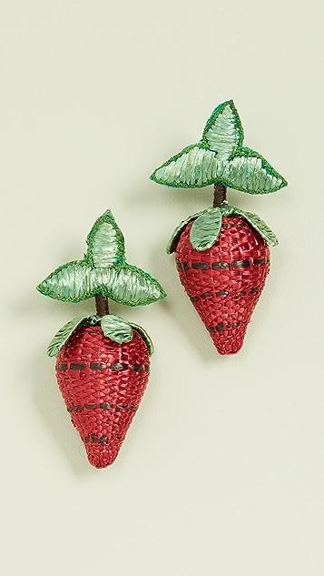 All Things Mochi 莓果耳环