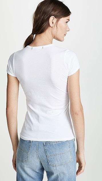 AMO 合身 T 恤