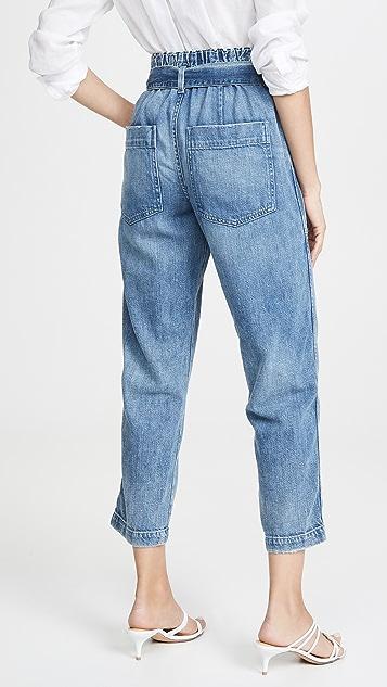 AMO 纸包牛仔裤