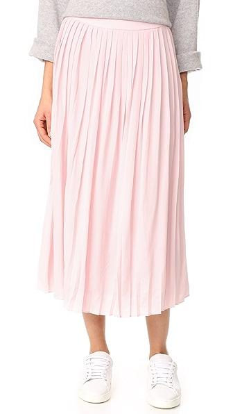 ANINE BING 褶皱半身裙