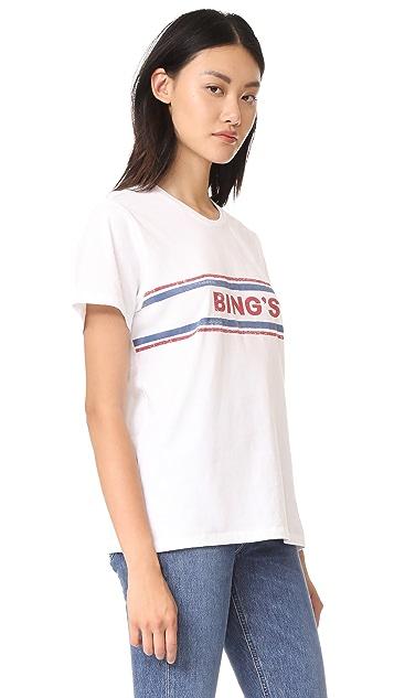 ANINE BING 复古 Bing's T 恤