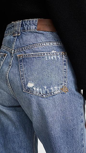 ANINE BING Lee 牛仔裤