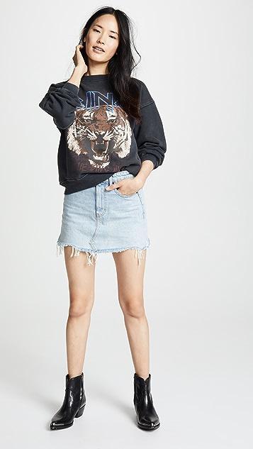 ANINE BING Bing 老虎运动衫