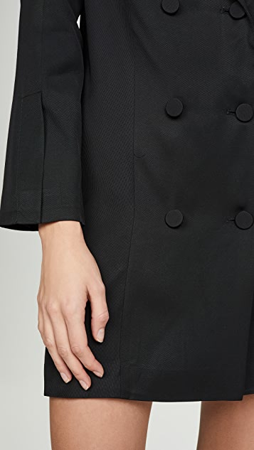 ANINE BING Francoise 西装外套式连衣裙