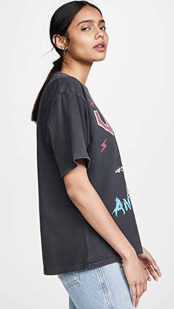 ANINE BING Serpent T 恤