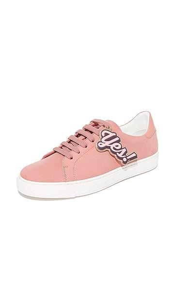 Anya Hindmarch Tennis Shoe Wink 运动鞋