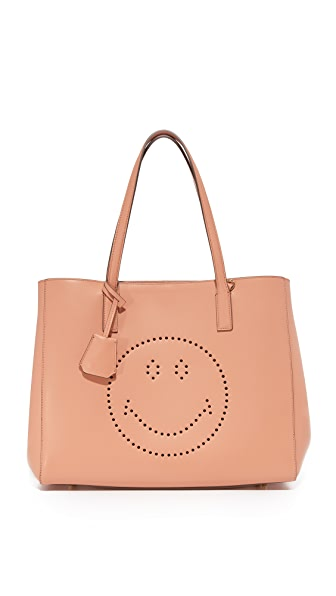 Anya Hindmarch Smiley Ebury 购物手提袋