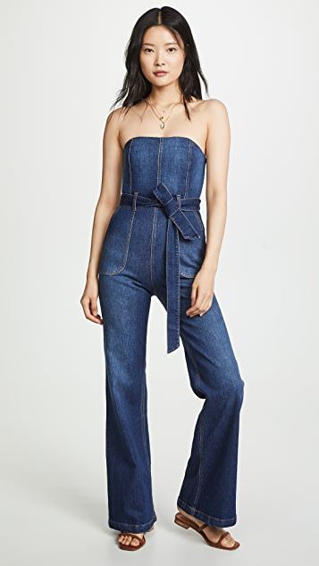 ALICE + OLIVIA JEANS Gorgeous Susy 连身衣