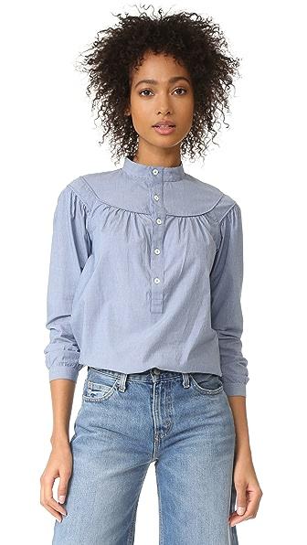 A.P.C. Classic Ingalls 条纹衬衣