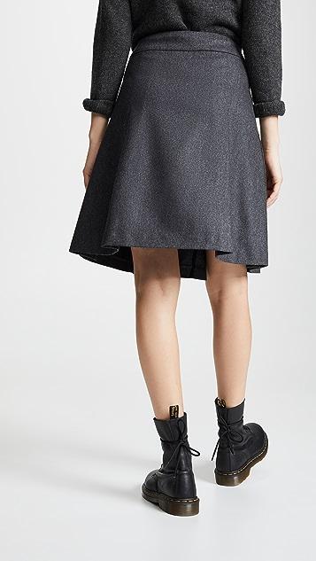 A.P.C.  Hortense 裹身半身裙