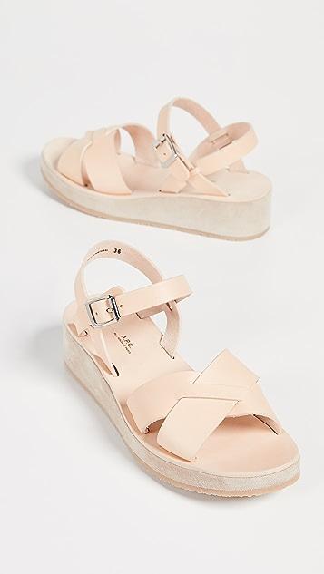 A.P.C.  Originales 凉鞋