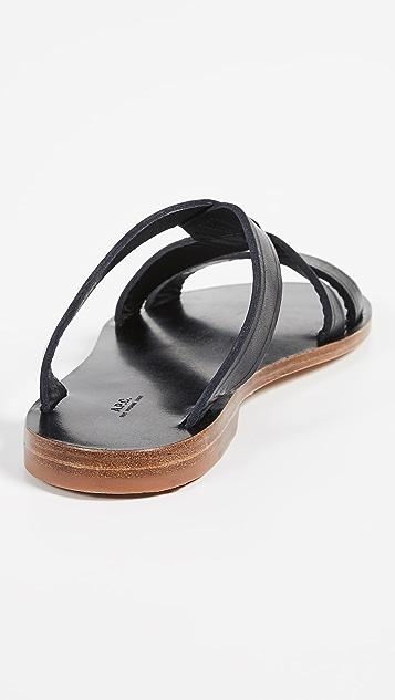 A.P.C.  Yael 凉鞋