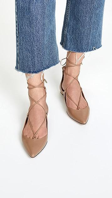 Aquazurra Christy 平底鞋