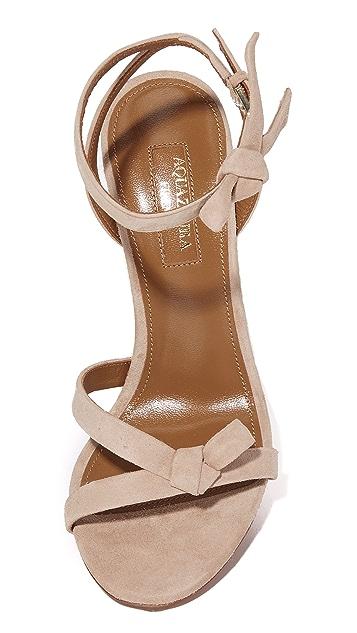 Aquazurra Passion 凉鞋
