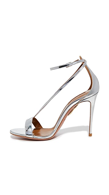 Aquazurra Casanova 105 凉鞋
