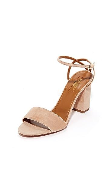 Aquazurra Tahiti 85 凉鞋