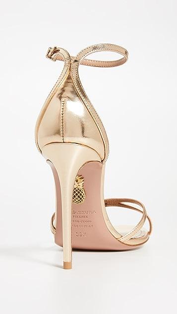 Aquazurra Purist 105mm 凉鞋