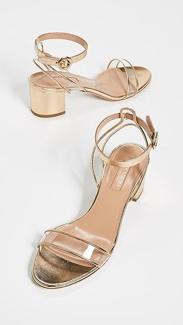 Aquazurra Minimalist 50 凉鞋