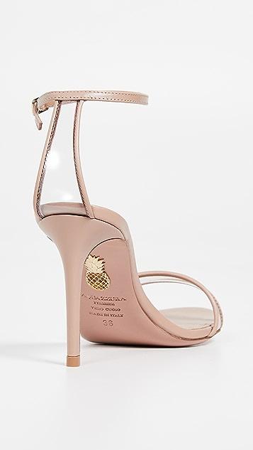 Aquazurra Minimalist 85 凉鞋