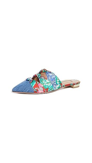 Aquazurra Mondaine 穆勒鞋