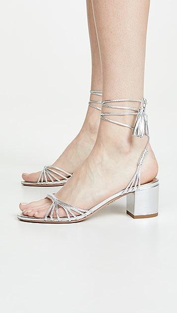Aquazurra Mescal 50mm 凉鞋