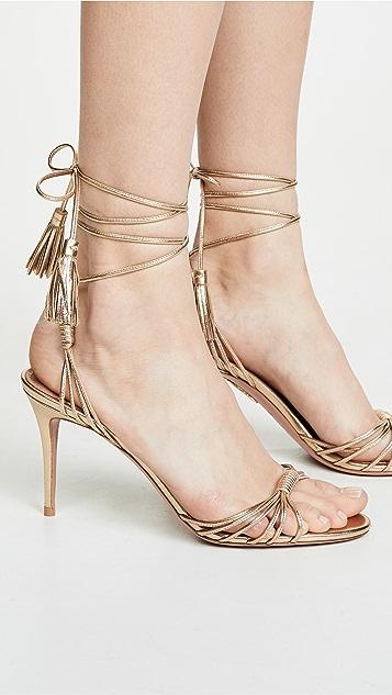 Aquazurra Mescal 85mm 凉鞋