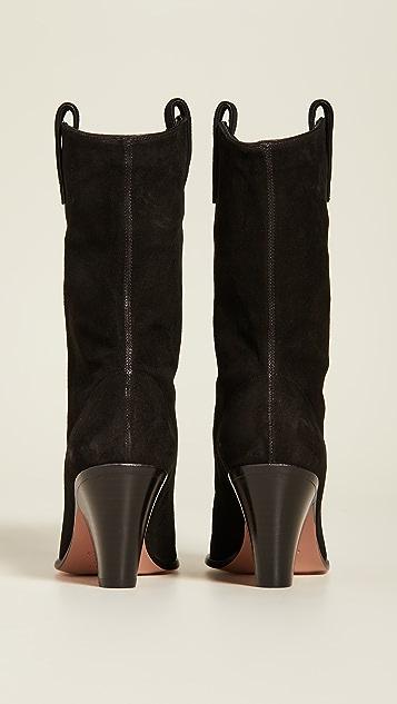 Aquazurra 70mm Boogie 牛仔短靴