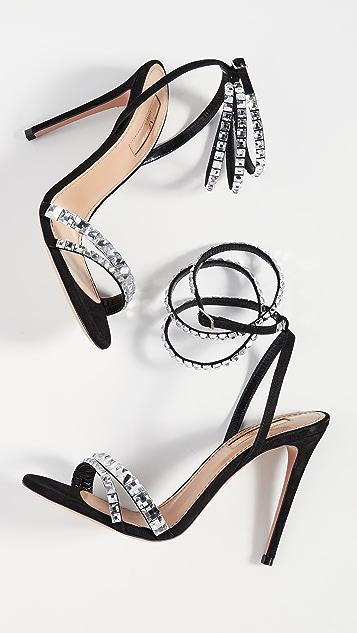 Aquazurra So Vera 105mm 凉鞋