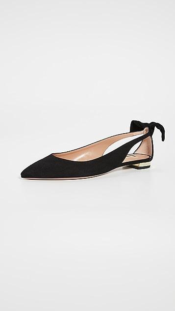 Aquazurra Deneuve 平底芭蕾舞鞋