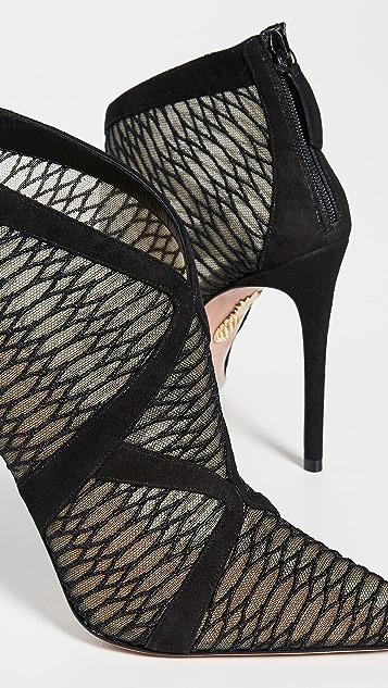 Aquazurra So Vera 短靴 105mm