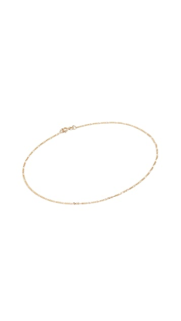 Ariel Gordon Jewelry Figaro 踝链