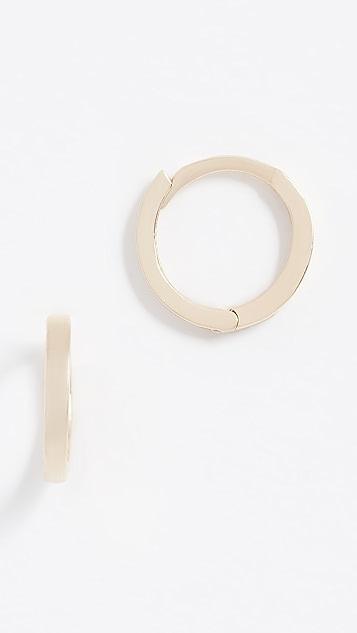 Ariel Gordon Jewelry 精致 14k 金圈式耳环