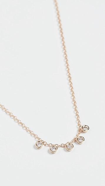 Ariel Gordon Jewelry 迷你钻石 Dase 项链