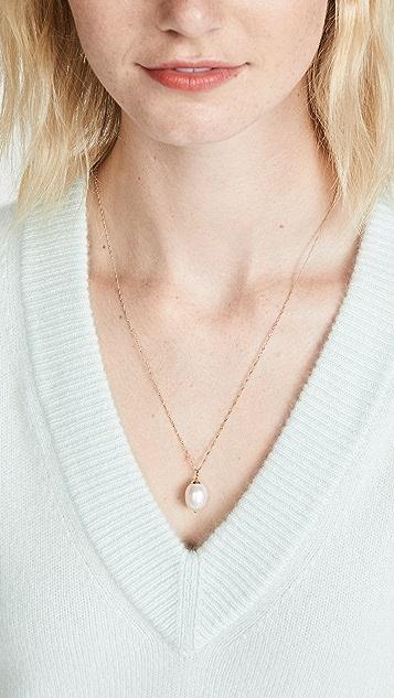 Ariel Gordon Jewelry 巴洛克珍珠吊坠项链