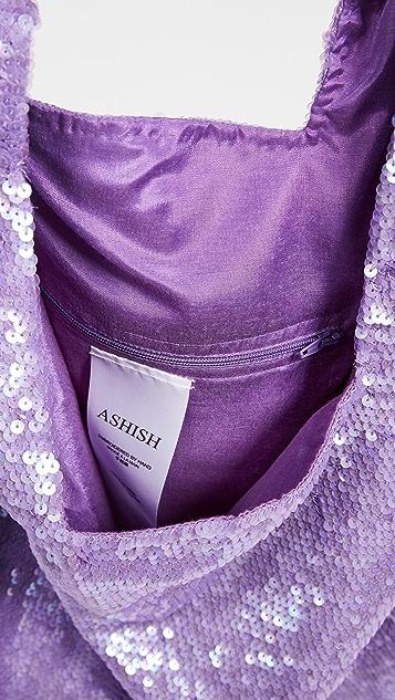 ASHISH 亮片购物包