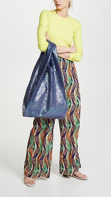 ASHISH 大号亮片购物袋