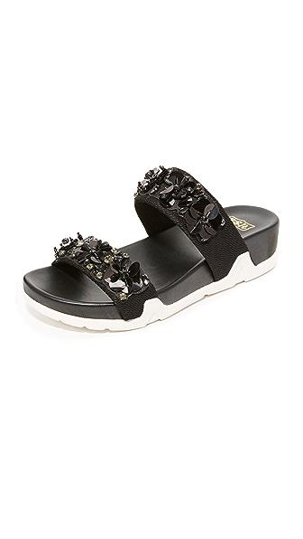 Ash Oman Flowers 凉拖鞋