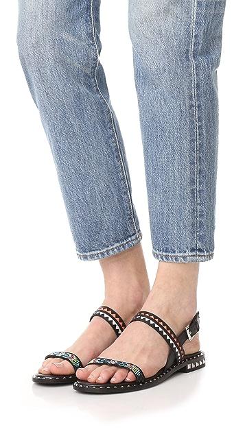 灰 Paco 凉鞋