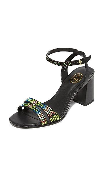 灰 Quito City 凉鞋