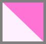 白色/艳粉色