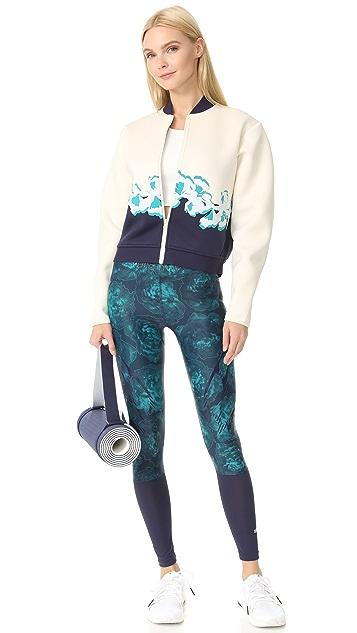 adidas by Stella McCartney Yoga 花朵夹克